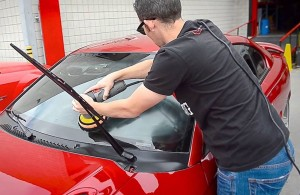 Picture of a auto car cleaning